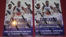 2015-16 Panini Contenders Basketball  Box  Lot  4 Autographs  Poss Towns Booker