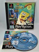SpongeBob SquarePants SuperSponge Video Game for Sony PlayStation PS1 PAL TESTED