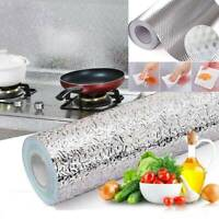 Waterproof Oil-proof Aluminum Foil Wall Sticker Self Adhesive Home Kitchen Decor