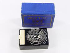 "Russian lightmeter ""Optack"". ОПТЭК Box. Extremely rare item."