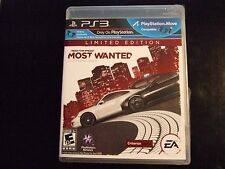 Replacement Case (NO GAME) NEED FOR SPEED MOST WANTED   PLAYSTATION 3 PS3