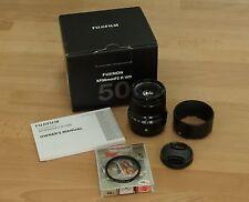 #3 Fujifilm Fuji XF 50mm f/2 f2.0 XF50 R WR Lens Plus Kenko UV Filter