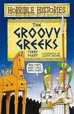 The Groovy Greeks by Terry Deary (Paperback, 1995)
