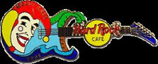 Hard Rock Cafe Online 2003 Mardi Gras Jester Guitar Pin Hro Exclusive On-Line