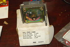 Barksdale CD1H-H18SS, .4-10PSI Pressure Switch, Dial Ajustable NEW