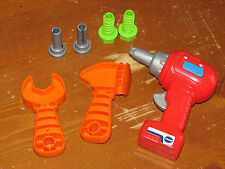 VTECH Drill & Learn Toolbox REPLACEMENT PARTS NEW - TOOLS Hammer Screws 7 Pieces