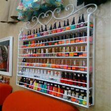 6-Étage Présentoir Support Vernis à Ongle UV Gel Rangement Support Mural