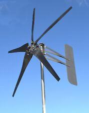 Wind turbine generator 5 Blade 1850W MAXCORE PMA 48 VAC 3 phase 7.4 kWh per day