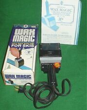 Wax Magic For Skis, For Better Control, Used In Box W/Instructions, Works Great