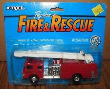 1990 Ertl Fire & Rescue Pierce 55 Aerial Ladder Fire Truck BUFFALO CO #2 DieCast