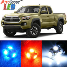9 x Premium Xenon White LED Lights Interior Package Kit for Toyota Tacoma + Tool