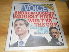 The Village Voice Dem Andrew Cuomo Shel Silver, Futbol, PART 3 The NYPD TAPES