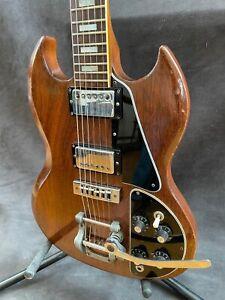 Gibson SG Deluxe 1971-72  Walnut w/original case. Very good condition.
