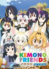 DVD Japan Anime KEMONO FRIENDS Complete Series (Vol. 1-12 End) English Subtitle
