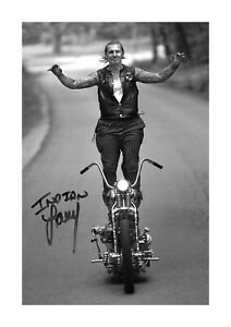 Indian Larry 2 A4 reproduction autograph photograph poster with choice of frame