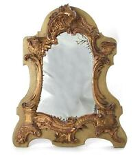 Venetian giltwood Rococo mirror Lot 1314