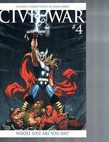 Civil War #4 Michael Turner Thor Goliath Death Variant Marvel Comics 2006