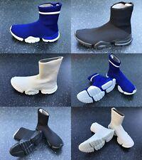 Reebok Sock Run Homme Bottes Chaussures Noir Bleu Blanc Chaussures Slip Unisexe