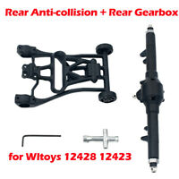 RC Car Spare Parts Rear Axle Rear Gearbox Rear Anti-collision for  Wltoys 12428