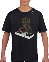 BABY GROOT BOMB KIDS T-SHIRT YEAH GUARDIANS YONDU GALAXY ROCKET BOYS TOP AWESOME