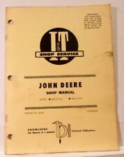 John Deere I & T Shop Manual, Series: 820 (3cyl) 830 (3 cyl) Manual JD-36