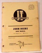 John Deere I & T Shop Manual, Series: 820 (3cyl) 830 (3 cyl) Manual JD-36