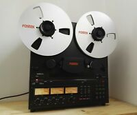 # Fostex E-2 Tonbandmaschine 2T 38 Master reel to reel tape deck