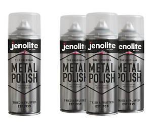 JENOLITE Metal Polish Aerosol - Polishing Foam - Automotive & Household - 400ml