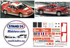 Decals Peugeot 307cc WRC Loeb ROC 2004 version toit blanc base Solido 1/43e