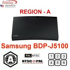 Samsung BD-J5100 Curved Region A Blu-Ray and ALL Region DVD Player