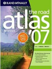 Rand Mcnally Mid-Size Road Atlas: 2007 U.S. Canada Mexico Used Pinterest project