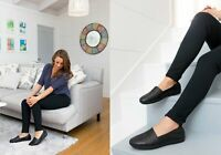 NEW PLANET SHOES ALLY J WOMENS SOFT LEATHER COMFORTABLE FLAT CASUAL SHOES