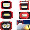 30W Portable USB COB LED Flood Light Outdoor Camping Spot Work Lamp Power Bank Q