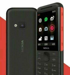 Nokia 5310 Mobile Phone (2020)Dual Sim Unlocked -WHITE / Black LATEST Brand New