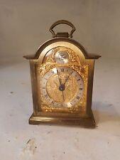 Swiza 8 day Brass Alarm Clock    , ref 3020