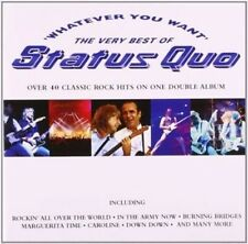 Status Quo - Whatever You Want-the Very Best of 2 CD 41 Tracks Classic Rock