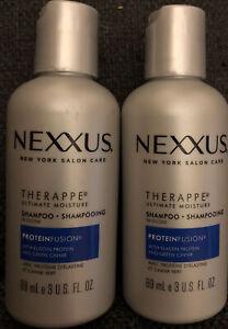 2pk NEXXUS THERAPPE MOISTURE SHAMPOO - 3oz EACH NEW
