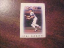 RYNE SANDBERG 1986 TOPPS BASEBALL > MAJOR LEAGUE LEADERS < MINI CARD RARE #39