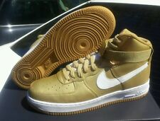 Air Force 1 One High Hi Metallic Gold 823297 700 Mens Size 10 Shoes