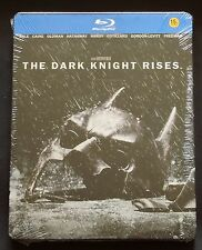 DC'S BATMAN : THE DARK KNIGHT RISES - KOREA BLU-RAY STEELBOOK - NEW & SEALED *