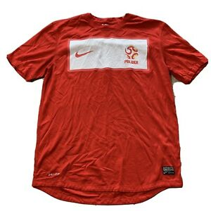 POLAND 2012 AWAY FOOTBALL SOCCER SHIRT JERSEY NIKE MEDIUM M