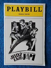 Jelly's Last Jam - Virginia Theatre Playbill - June 1992 - Gregory Hines
