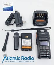 Hytera Pd482i Uhf 350-470 Dmr 4 Watt Portable Radio Display Keypad Bluetooth Gps