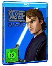 Star Wars: The Clone Wars Staffel 3 Blu Ray NEU+OVP