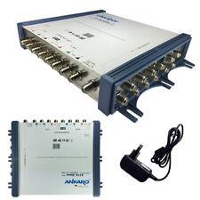 Sat Multischalter 9/16 Multiswitch Switch FullHD 4K 8K MS Verteiler 16Teilnehmer