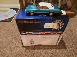 Franklin Mint 1968 Chevelle SS 396 Limited Edition 1/24 Scale  Convertible
