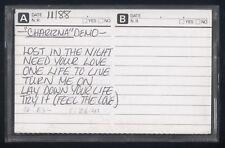 CHARIZMA - DEMO - CHRISTIAN HARD ROCK / METAL DEMO TAPE - SWEDEN 1988