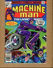 Machine Man #2  - The Living Robot - 1978 (Grade7.5) WH