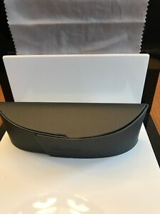 SILHOUETTE Eyeglass Empty Case ONLY Sunglass Clamshell Dark Gray Magnetic
