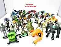 BEN10 Figures Bandai Cartoon Network - CHOOSE YOUR FIGURE Good /Very Good Cond